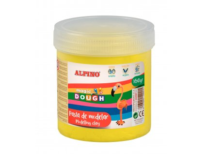 DP000144 01 Bote Magic Dough 160 grs. amarillo