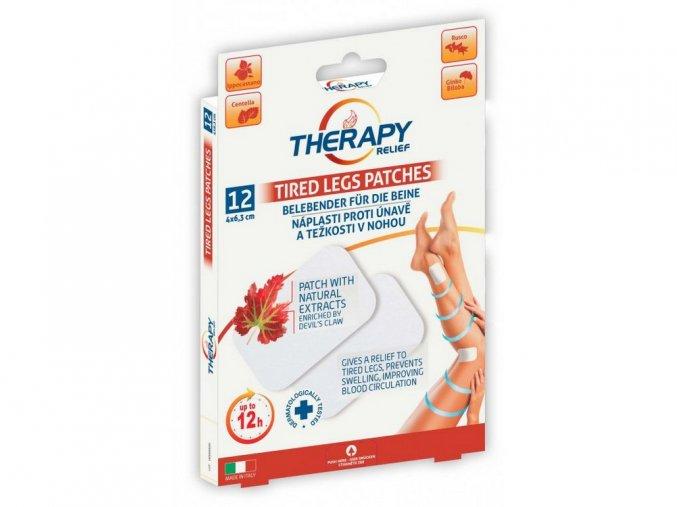 Therapy proti únavě a těžkosti nohou