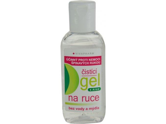 Vivapharm antibakteriální gel na ruce s Aloe Vera 50 ml eshop StopBac 2