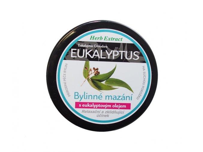 Bylinné mazání s eukalyptovým olejem HERB EXTRACT eshop StopBac