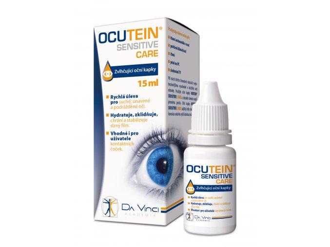Ocutein SENSITIVE CARE oční kapky 15ml DaVinci Academia eshop StopBac