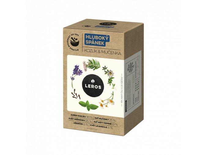 Leros hluboký spánek čaj eshop StopBac zdravá výživa