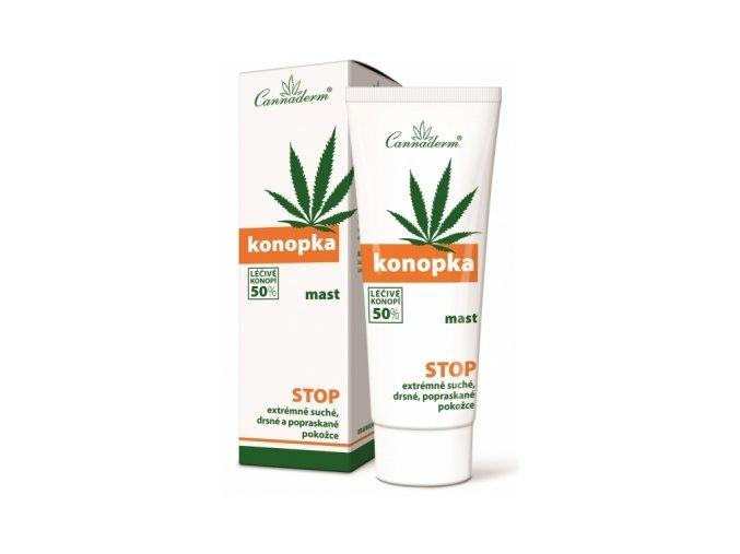 Cannaderm Konopka mast léčivé konopí 50% eshop StopBac