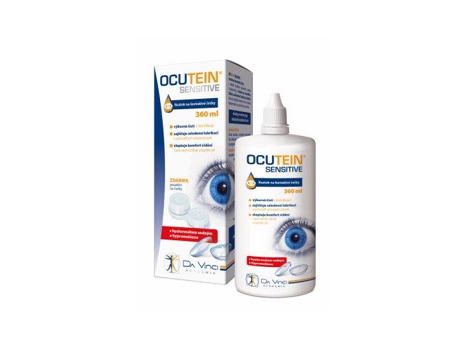 Ocutein SENSITIVE roztok na kontaktní čočky 360ml eshop StopBac