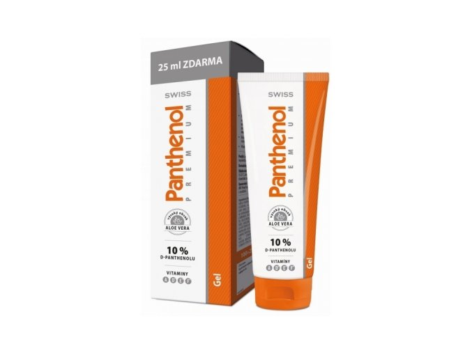 Panthenol 10% Swiss PREMIUM gel 100+25ml Zdarma eshop StopBac