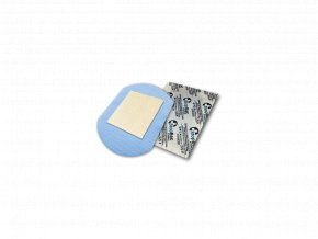 Náplast se stříbrem StopBac STERILE Aquastop, 10x10 cm pooperační, antibakteriální