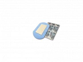 Náplast se stříbrem StopBac STERILE Aquastop, 7,5x5 cm pooperační, antibakteriální
