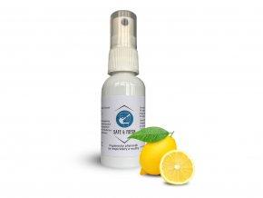 Hygienický sprej na respirátory a roušky, Safe&Fresh, eshop StopBac