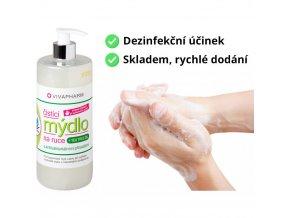 Vivaco čistící mýdlo na ruce s přírodními antibakteriálními přísadami a Tea Tree 500 ml eshop StopBac ruce dezinfekce