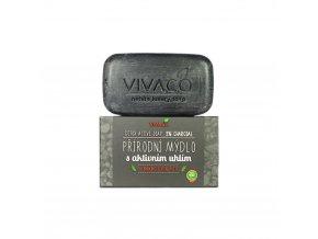 Vivaco přírodní mýdlo s aktivním uhlím 100 g eshop StopBac