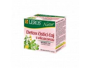 Leros čaj čistící a detoxikační čaj eshop StopBac