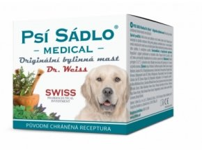 Simply You Psí sádlo Dr. Weiss originální bylinná mast 75 ml eshop StopBac