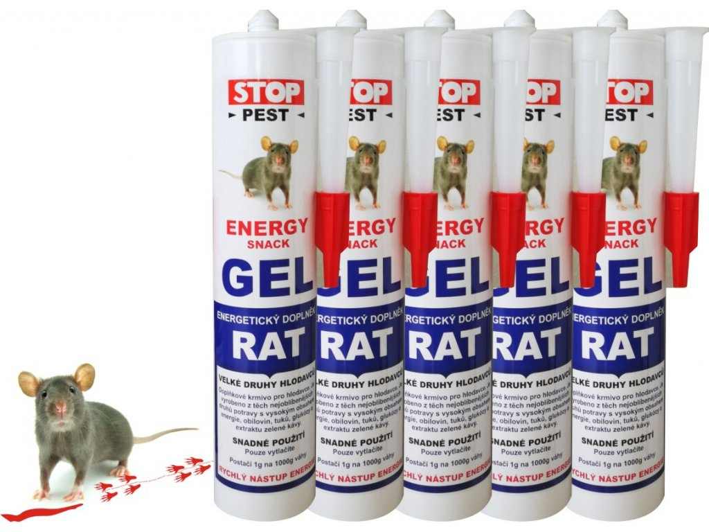 Energy Gel RAT 5x