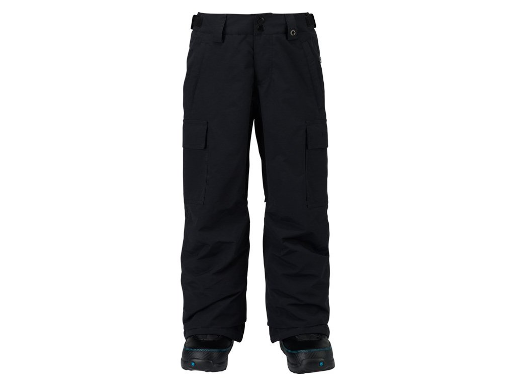 BOYS EXILE CARGO PT TRUE BLACK
