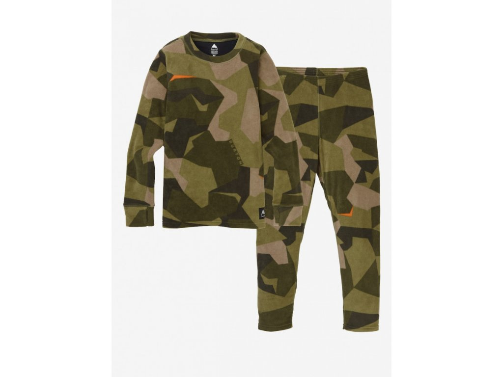 KIDS FLC SET THREE CROWNS CAMO