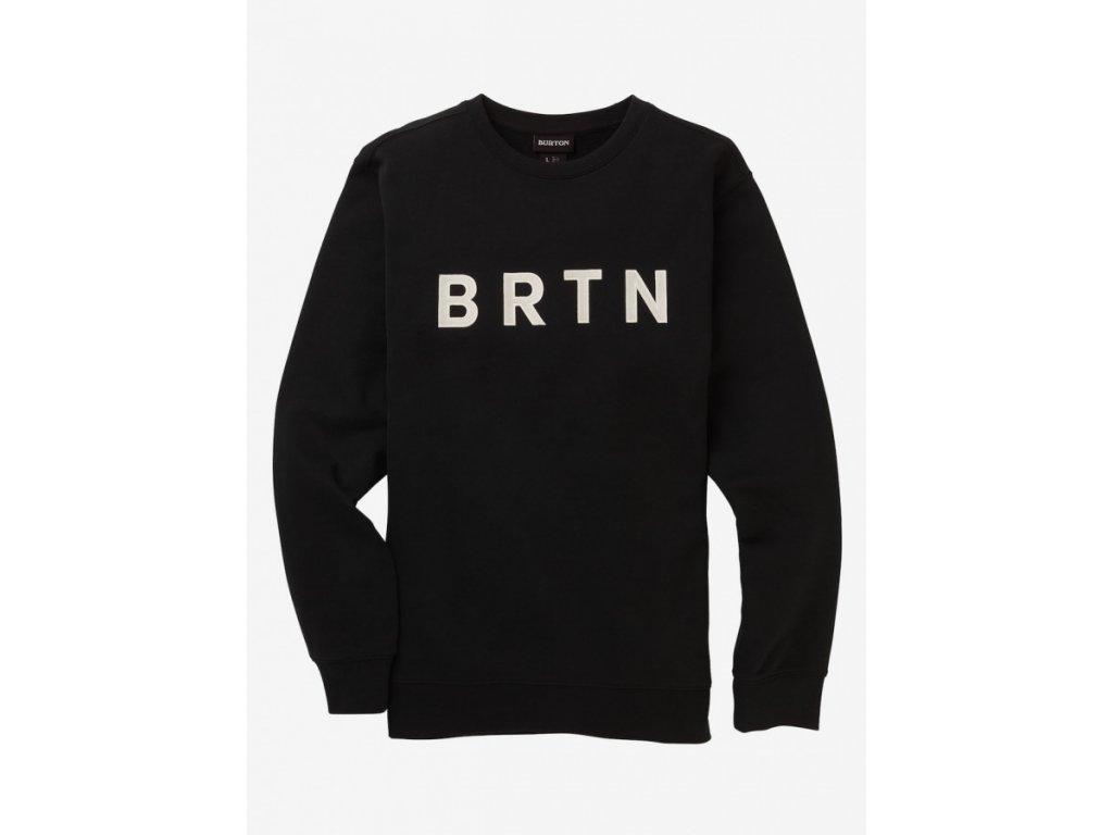M BRTN CREW TRUE BLACK