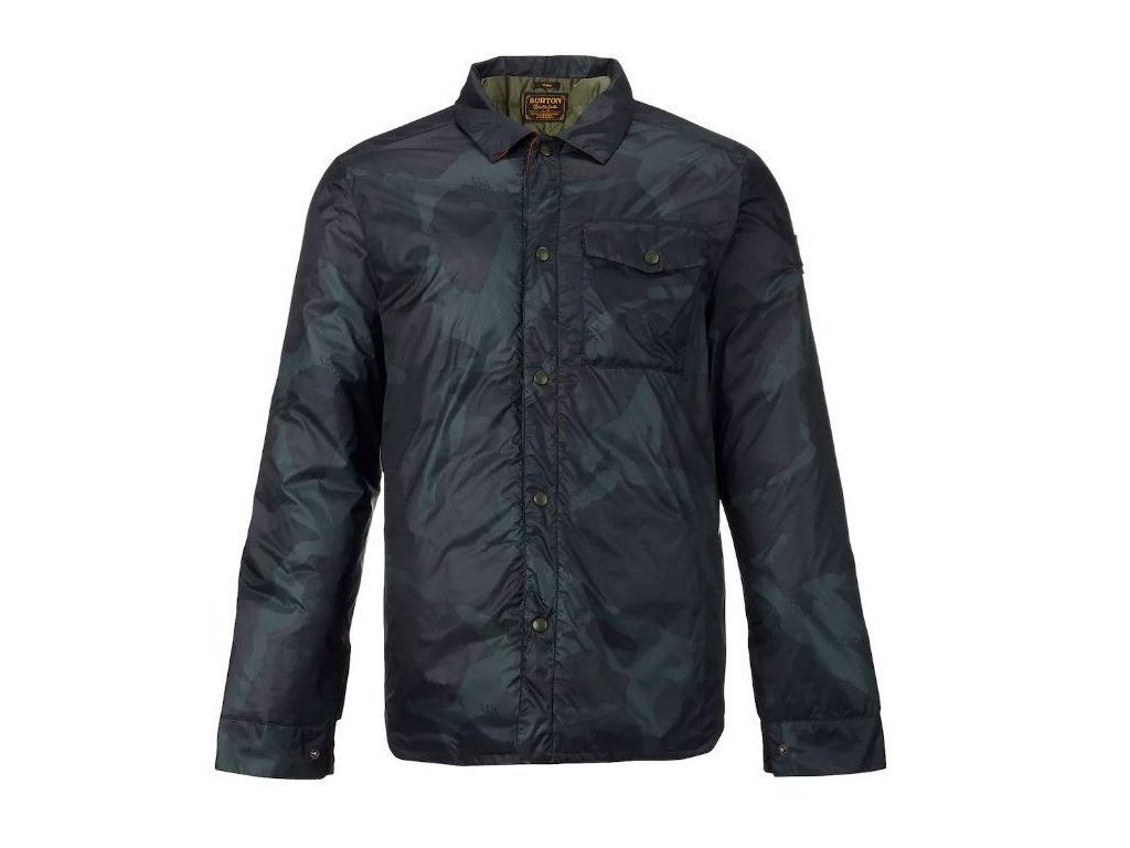 WAYLAND DOWN SHIRT DERBY CAMO