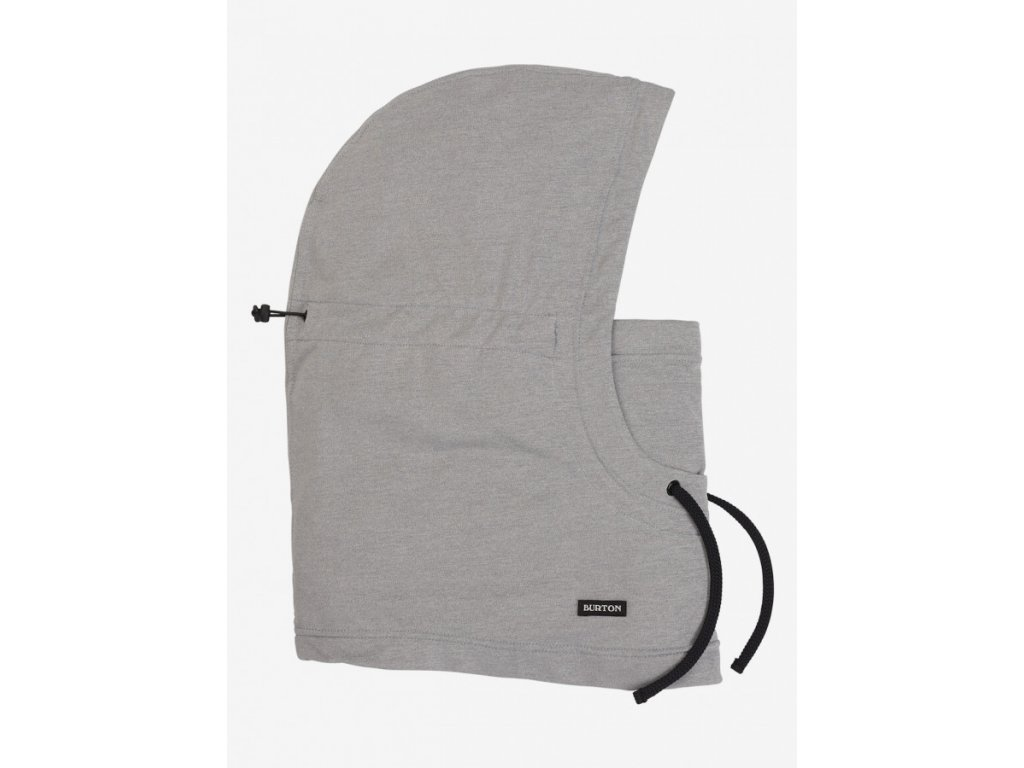 INLET HOOD GRAY HEATHER