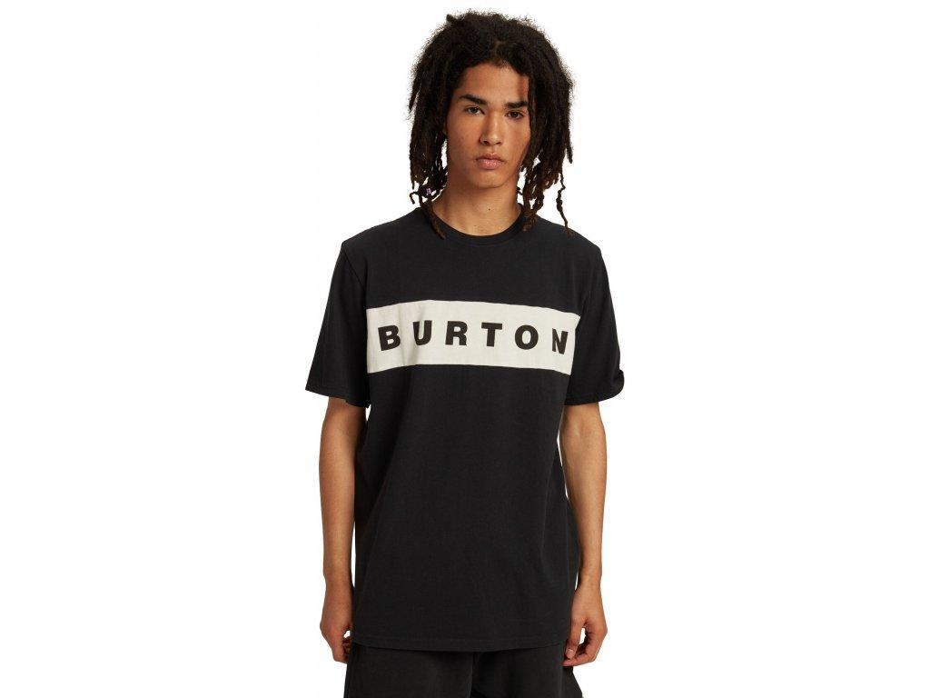 Pánské Tričko Burton Lowball Short Sleeve T-Shirt True Black