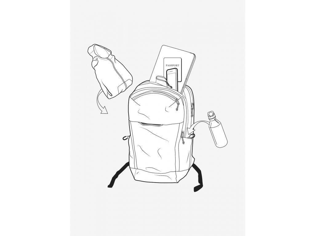 Batoh Multipath 25L Backpack