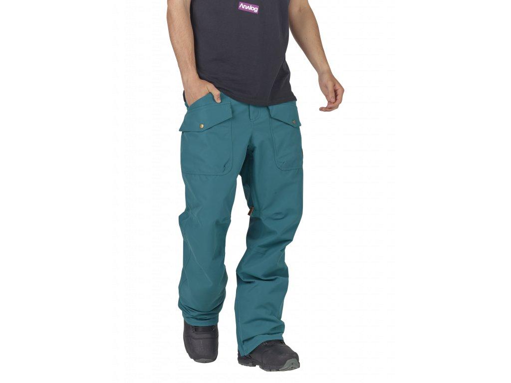 Pánské Kalhoty Burton AG CONTRACT PT BLUE 107