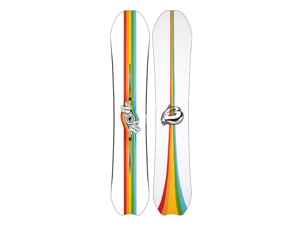 Pánský Snowboard Burton Deep Thinker (Délka snowboardu 63W)