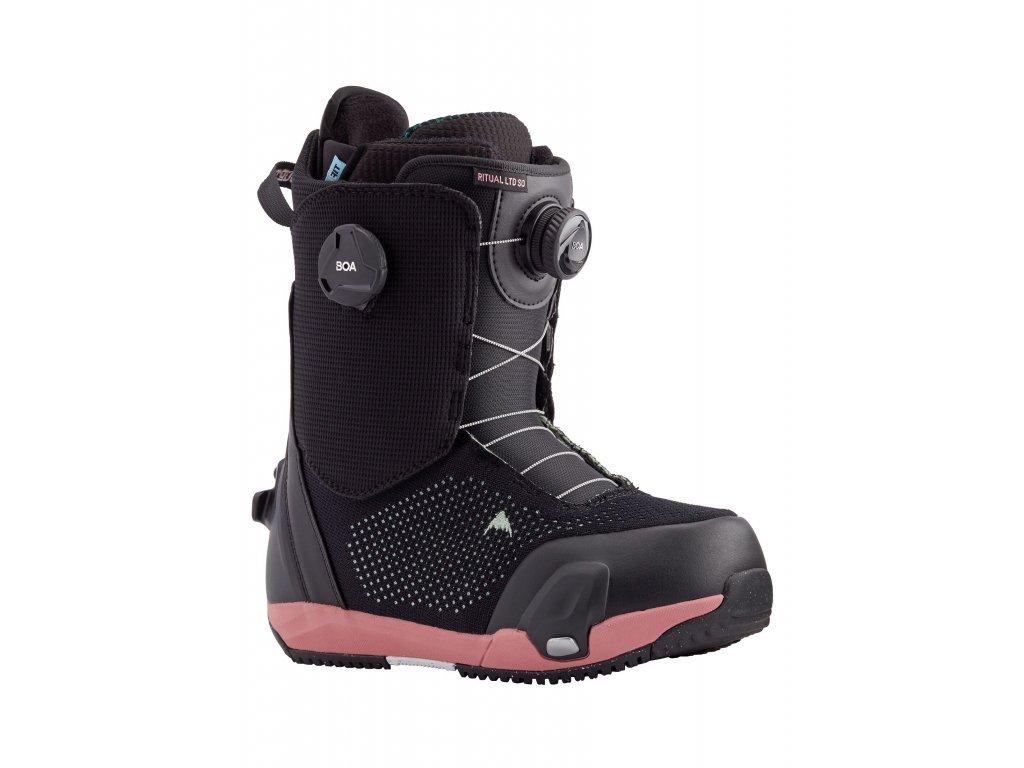 Dámské Burton Ritual LTD Step On® Snowboardové Boty (Barva Black, Velikost boty US 7.0)