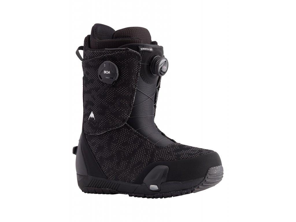 Pánské Burton Swath Step On® Snowboardové Boty (Barva Black, Velikost boty US 10)