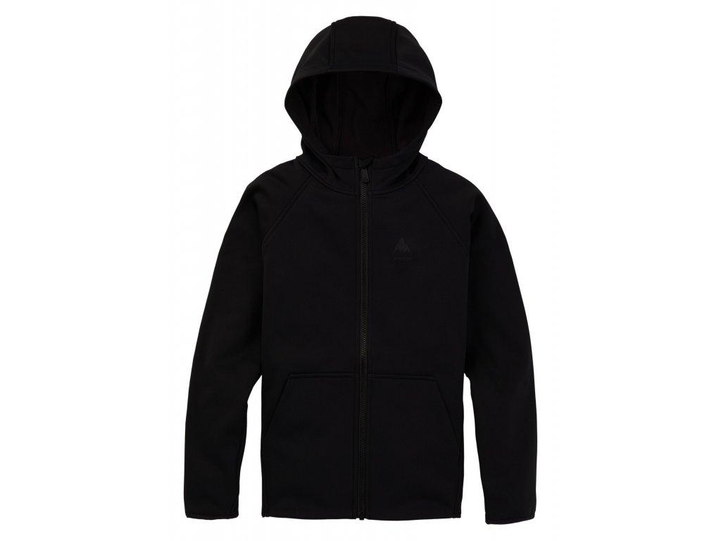 Dětská Mikina Burton K Crown Weatherproof Full-Zip Fleece