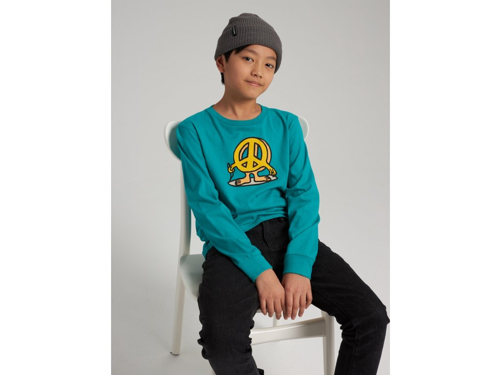 Dětské Tričko Burton K Duncan Long Sleeve T-Shirt