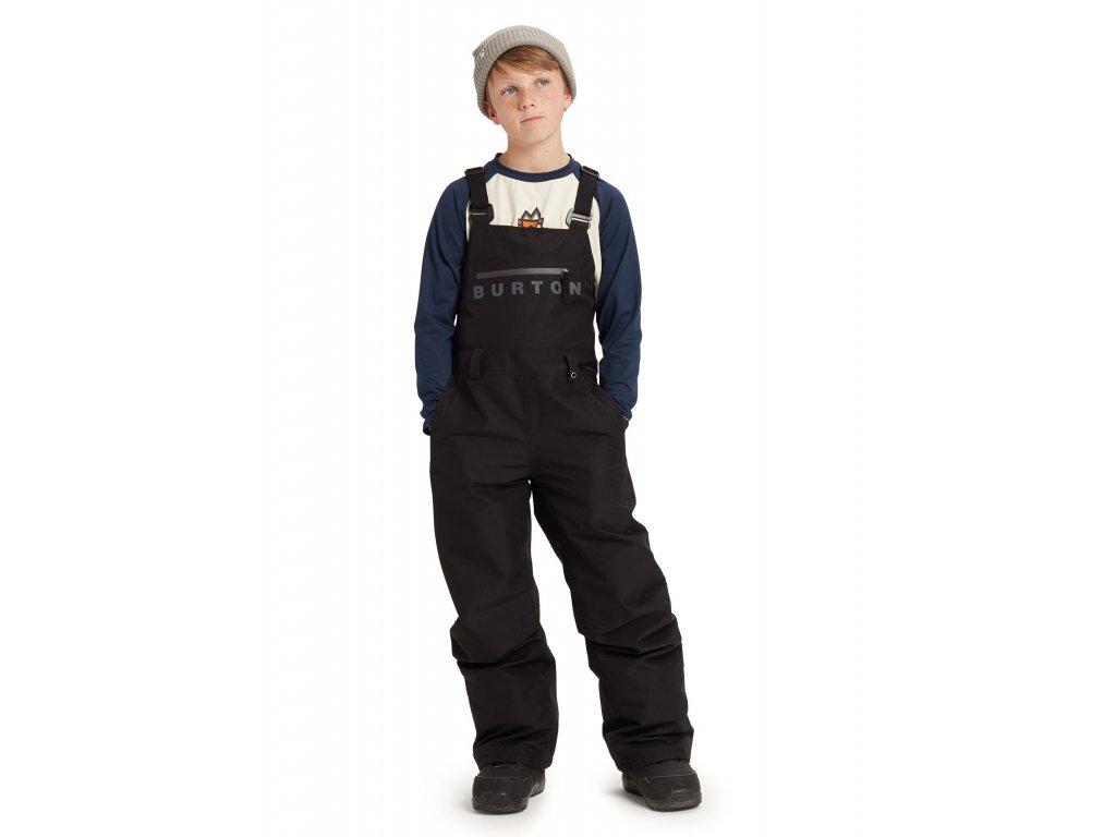 Dětské Lacláče Burton GORE-TEX Stark Bib True Black
