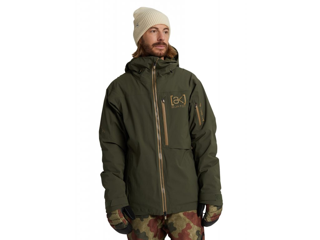 Pánská Bunda Burton [ak] M GORE-TEX Helitack Stretch Jacket Forest Night