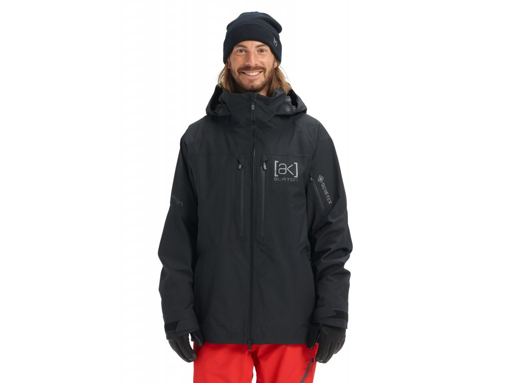 Pánská Bunda Burton [ak] GORE‑TEX Swash Jacket True Black