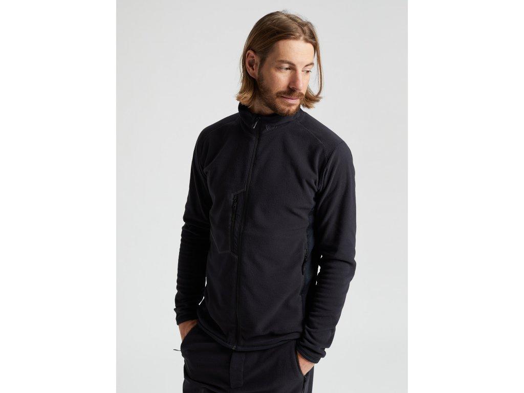 Pánská Bunda Burton M [ak] Japan Microfleece Full-Zip Jacket