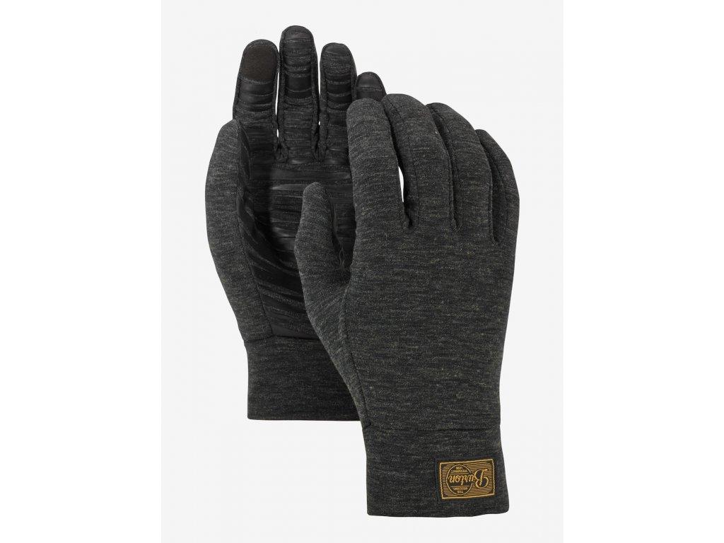 Pánské Rukavice Burton M drirelease® Wool Glove Liner