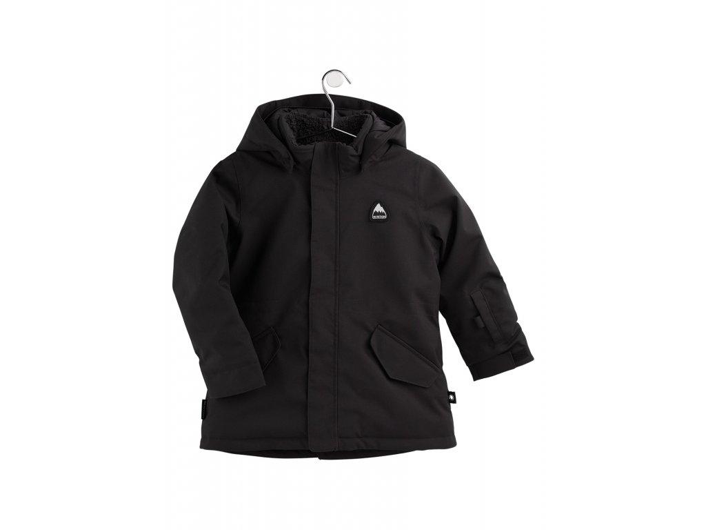 Dětská Bunda Burton Toddlers' Parka Jacket True Black