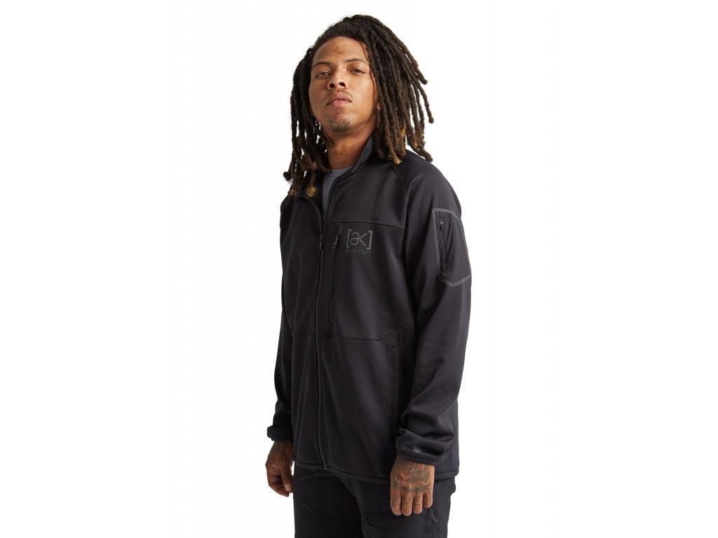 Pánská Mikina Burton M [ak] Polartec® Grid Full-Zip Fleece