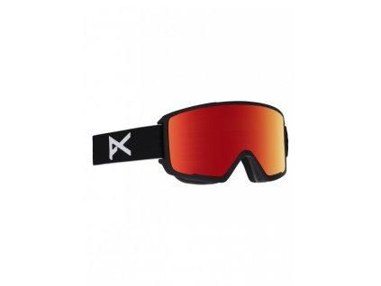 M3 W/SPR BLACK/RED SOLEX