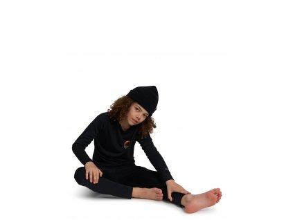Dětské Termoprádlo Burton Lightweight Base Layer Set True Black