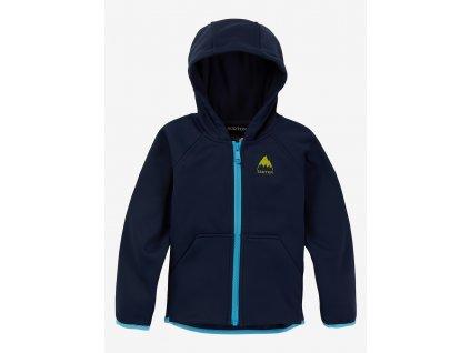 Dětská Mikina Burton T Crown Weatherproof Full-Zip Fleece