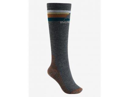 Dámské Ponožky Burton W Emblem Midweight Sock