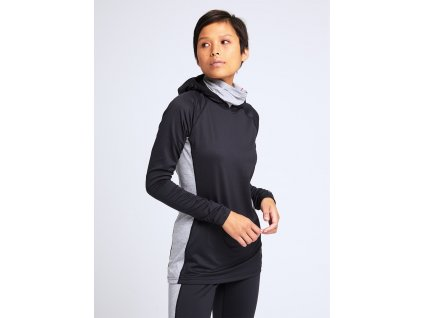 W Midweight X Base Layer Long Neck Hoodie