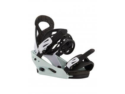 Dětské Snowboardové Vázání Burton Smalls Re:Flex Neo-Mint / White