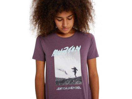 Dámské Tričko Burton W Ashmore Photo Short Sleeve T-Shirt