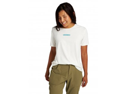 Dámské Tričko Burton Vault Short Sleeve T-Shirt Stout White
