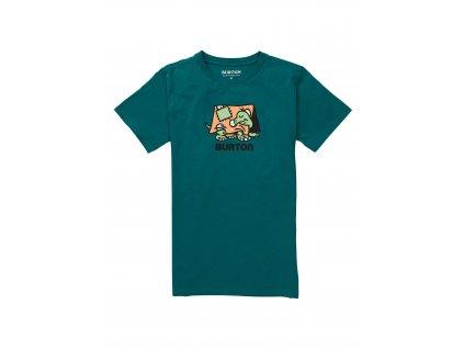 Dětské Tričko Burton K Emerald Short Sleeve T-Shirt