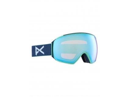 Pánské brýle anon. M4 Toric Goggles + Bonus Lens + MFI® Face Mask Navy / Perceive Variable Blue