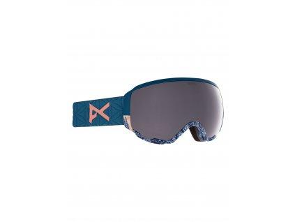 Dámské brýle anon. WM1 Goggles + Bonus Lens + MFI® Face Mask Parker / Perceive Sunny Onyx