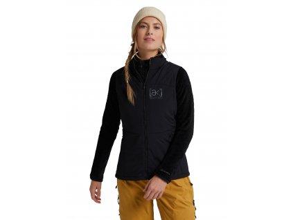 Dámská Vesta Burton [ak] Helium Stretch Insulated Vest True Black