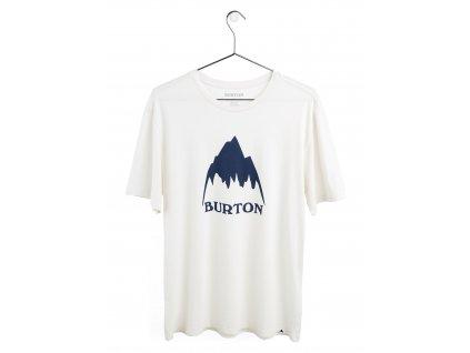 Tričko Burton Classic Mountain High Short Sleeve T-Shirt Stout White